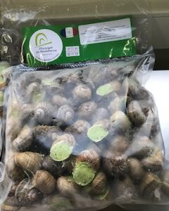 Le sachet de 100 coquilles surgelées à la bourguignonne