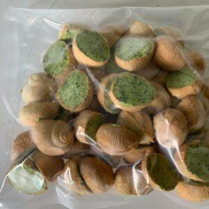 Le sachet de 50 croquilles surgelées à la bourguignonne